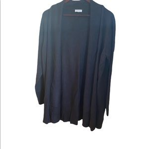 Laura grey long sleeve open cardigan  No size tag measurements included